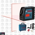 Bosch Tools GLL 2-15 Self-Leveling Cross-Line Laser