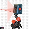 Bosch Tools GLL2 Self-leveling Cross-Line Laser replaces GLL2-10 O-B