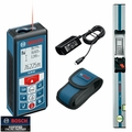 Bosch Tools GLM80+R60 Laser Distance Measurer PLUS R 60 Digital Level
