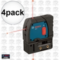 Bosch Tools GPL3 4pk Reconditioned 3-Point Self-Leveling Alignment Laser