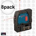 Bosch Tools GPL3 8pk Reconditioned 3-Point Self-Leveling Alignment Laser