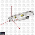 Bosch Tools GPL3T 3-Laser Point Torpedo Alignment Level