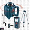 Bosch Tools GRL245HVCK 800' Dual-Axis Rotary Laser + 120' Laser Range Finder