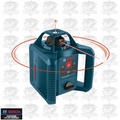 Bosch Tools GRL245HVCK 800' Dual-Axis Self-Leveling Rotary Laser with GLM35