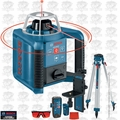 Bosch Tools GRL300HVCK Self-Leveling Rotary Laser + Layout Beam Complete Kit