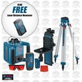 Bosch Tools GRL300HVCK-X1 Self-Leveling Rotary Laser Kit w/ Free DLR130K