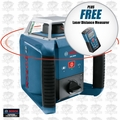 Bosch Tools GRL400H-X1 Self-Leveling Rotary Laser w/ FREE DLR130K