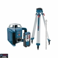 Bosch Tools GRL400HCK Self-Leveling Rotary Laser PLUS Complete Exterior Kit