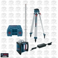 Bosch Tools GRL500HCK Self-Leveling Rotary Laser Complete Kit..