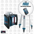 Bosch Tools GRL500HCK-X1 Self-Leveling Rotary Laser Kit w/ FREE DLR130K