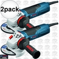 "Bosch Tools GWS13-50VS 2pk 11 Amp 5"" Variable Speed Angle Grinder"