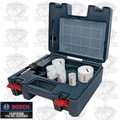 Bosch Tools HB17PL 17 Piece Bi-Metal Plumber's Hole Saw Set