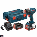 "Bosch Tools IDH182-01L Brushless Socket Ready Impact w/ 1/4"" Hex + 1/2"" Sq 4Ah"