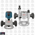 Bosch Tools MRC23EVSK 2.3 HP VS Combination Plunge & Fixed-Base Router Pack