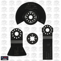 Bosch Tools OSC3S 3pc Oscillating 3 Blade Value pack