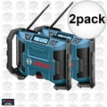 Bosch Tools PB120 2pk 12 Volt Lithium-Ion Cordless Jobsite Radio AM/FM MP3
