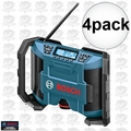 Bosch Tools PB120 4pk 12 Volt Lithium-Ion Cordless Jobsite Radio AM/FM MP3
