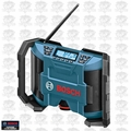 Bosch Tools PB120 12 Volt Lithium-Ion Cordless Jobsite Radio 12V Li-Ion AM/FM MP3