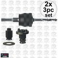 "Bosch Tools PCM38AN 2x 3pc 3/8"" Universal Quick Change Mandrel Kit"