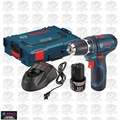"Bosch Tools PS31-2AL 12V Max Cordless Litheon 3/8"" Drill/Driver with L-Boxx"