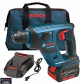 "Bosch Tools RHS181K 18 V 1/2"" Cordless SDS-Plus Rotary Hammer w/Fatpack Bat"