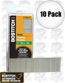 "Bostitch BT1338B-1M 10pk 1000 Pack 1-1/2"" 18-Gauge Brads"