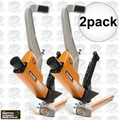 Bostitch BTFP12569 2pk 15.5 - 16ga. 2-IN-1 Pneumatic Flooring Nailer Stapler