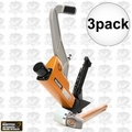 Bostitch BTFP12569 3pk 15.5 - 16ga. 2-IN-1 Pneumatic Flooring Nailer Stapler