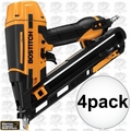 Bostitch BTFP72155 4pk Smart Point 15GA DA Style Angle Finish Nailer Kit