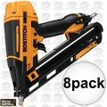 Bostitch BTFP72155 8pk Smart Point 15GA DA Style Angle Finish Nailer Kit