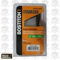 "Bostitch FN1532-1MSS 2"" 15GA FN Style Angled Finish Nails"