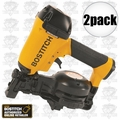"Bostitch RN46-1 2pk 3/4"" to 1-3/4"" 15 Deg. Coil Roofing Nailer"