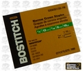 "Bostitch SX50351-2G7M 7,000pk 7/32"" Crown 1/2"" Leg Finish Staples"