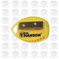 C. H. Hanson 00202 VersaSharp Carpenter Pencil Sharpener 'Flat or Round'