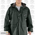 Carhartt Green Large Men's Surry PVC Rain Coat