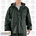 Carhartt Green Medium Regular Men's Surry PVC Rain Coat