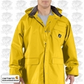 Carhartt Yellow Large Men's Surry PVC Rain Coat