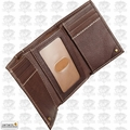 Carhartt 61-2200-20 Men's Trifold Brown Leather Wallet