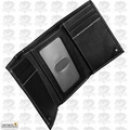 Carhartt 61-2200-30 Men's Trifold Black Leather Wallet