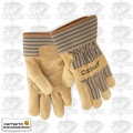 Carhartt A123 Brown Medium Lined Suede Cowhide Palm Gloves