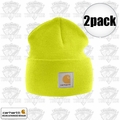 Carhartt A18 Bright Lime Acrylic Watch Cap One Size Fits All