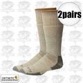 Carhartt A3915 2pr Arctic Boot Sock Large Heather Grey
