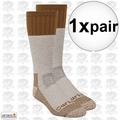 Carhartt A66 Cold Weather Boot Socks Brown Large