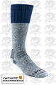 Carhartt A66 Cold Weather Boot Socks Navy X-Large