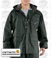 Carhartt Green Small Regular PVC Rain Coat