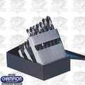 Champion Cutting Tools 129T-C 29 Piece 700T Tin Coated Drill Bit Set