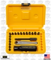 Chapman 4320 20 pc Standard Mini Ratchet Screwdriver Bit Set