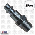 "Coilhose 1501 2pk 1/4"" NPT Male M Plug Air Fitting"