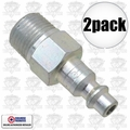 "Coilhose 1503 2pk 3/8"" NPT Male M Plug Air Fitting"