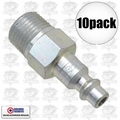 "Coilhose 1503 10pk 3/8"" NPT Male M Plug Air Fitting"
